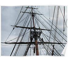 Rigging and Mast Poster