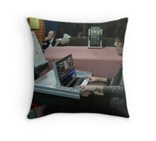 If music be..... Throw Pillow
