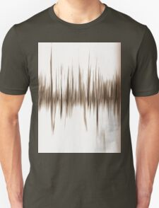Trees, an Abstract in Sepia. Unisex T-Shirt