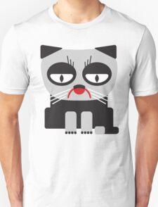 cheerless grumpy looking cat T-Shirt