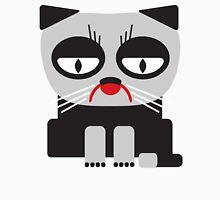 cheerless grumpy looking cat Unisex T-Shirt