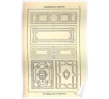A Handbook Of Ornament With Three Hundred Plates Franz Sales Meyer 1896 0039 Oblong Subdivision  Geometrical Elements Poster