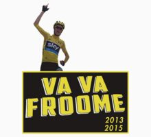 Chris Froome - Va Vaa Froome (Tour De France 2015) by FAdesigns