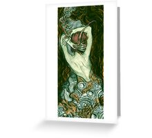 Tattooed Hands Greeting Card