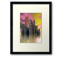 City of Glass Framed Print