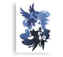 MLP: Luna + Nightmare Moon Canvas Print