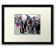"""Say Cheese!"" Framed Print"