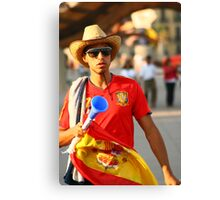 Espana World Cup 2010  Canvas Print