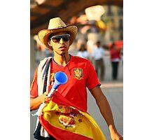 Espana World Cup 2010  Photographic Print