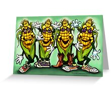 Corn Party Greeting Card
