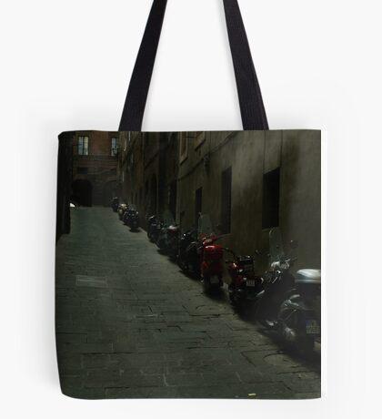 Siena Vespas Tote Bag