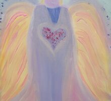 Healing Angels-Grandfather Angel by Ella May