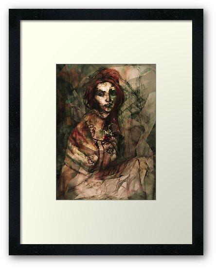 Portrait of Grace Marks by roxygen