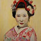 Geisha II by Jen  Biscoe