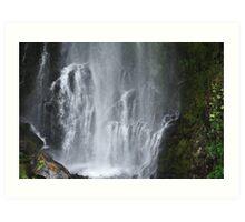 Bear Creek Falls Art Print