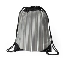 Corrugated Chrome #2 Drawstring Bag