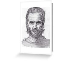 Jeff Bridges Greeting Card