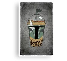 Boba Tea Canvas Print