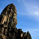 Angkor Wat into the sky by Alexander Kok