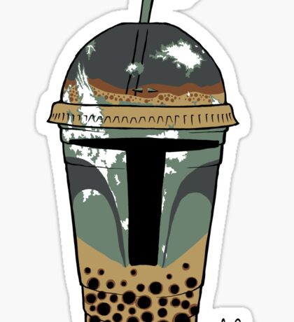 Boba Tea (sticker) Sticker