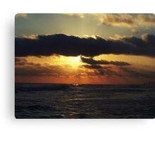 cajun sun Canvas Print