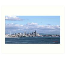 Seattle, Washington  Art Print