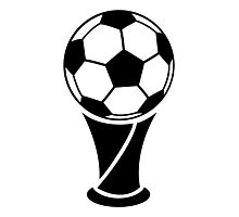 World Cup Trophy Photographic Print