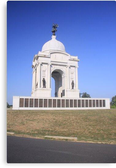 Pennsylvania Monument at Gettysburg by elisab