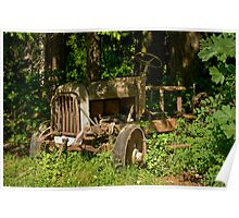 Abandoned 1922 Federal Truck Poster
