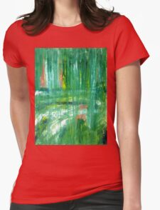Walk in the Park Womens Fitted T-Shirt