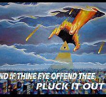 MATTHEW 18:9  - THINE EYE OFFENDS by Calgacus