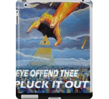 MATTHEW 18:9  - THINE EYE OFFENDS iPad Case/Skin