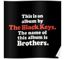 The Black Keys Album Poster