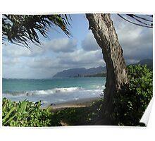 Oahu Beach Poster