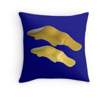 Platypus (Ornithorhynchus anatinus) Throw Pillow