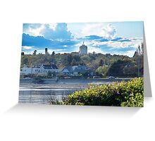 McNeill Bay (3) Greeting Card