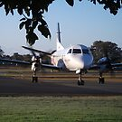 Saab 340 Turbo by Gary Kelly
