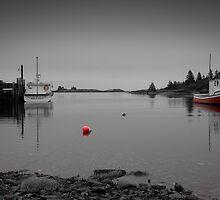 Peaceful Blue Rocks by Andrew Schweitzer