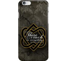 leonard black iPhone Case/Skin