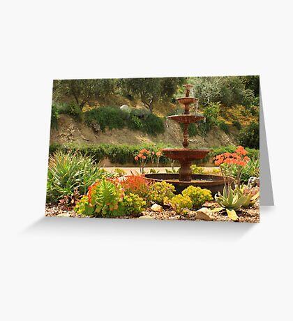 Cactus Fountain Greeting Card