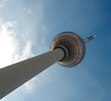 Berlin TV Tower (Colour) by Luke Prudence
