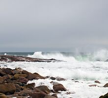 Stormy Weather and Raging Sea by Monica M. Scanlan