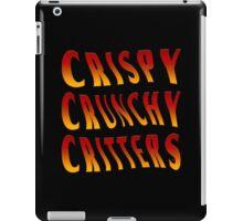 Crispy Crunchy Critters Feast iPad Case/Skin