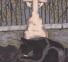 St Nicholas Kirkyard, Aberdeen by Esther Green