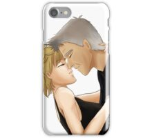 Leather and Lace - Stargate SG-1 Sam/Jack - Characters Only iPhone Case/Skin