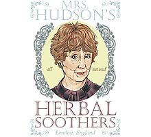 Mrs. Hudson's Herbal Soothers Photographic Print