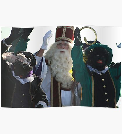 Sinterklaas or Saint Nicolas  Poster