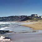 Bar Beach Panorama by RedMonkey Photography