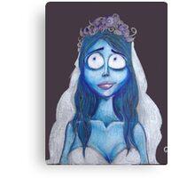 Corpse Bride Canvas Print