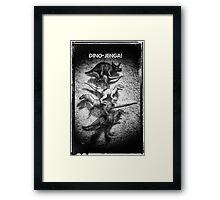 Dino Jenga! Framed Print